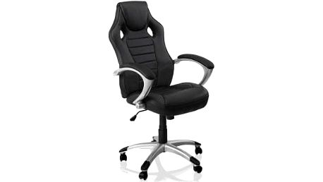 Kancelářská židle Hawaj® racing Deluxe černá