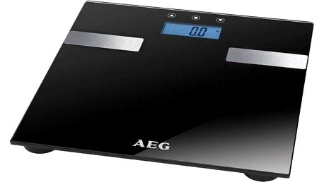 Osobní váha AEG PW 5644 černá s měřením tuku, svalů a vody v těle