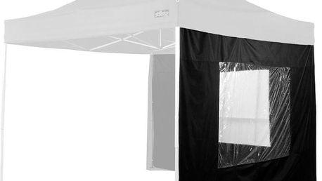 Boční stěna k párty stanu STILISTA® - sada 2 ks černé