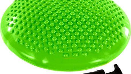 Balanční polštář na sezení MOVIT 37 cm, zelená