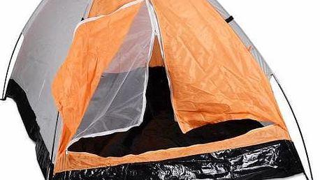 Stan pro 2 osoby - oranžovo/černý