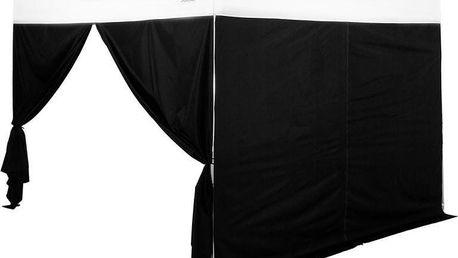Sada 2 ks bočnic pro párty stan STILISTA 3x3 m černé