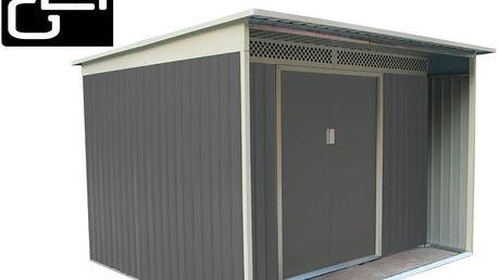 Zahradní domek G21 GBAH 720 - 267 x 236 cm, šedý