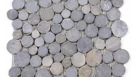 Divero Garth 27509 Mozaika z andezitu - šedá obklady - 1x síťka