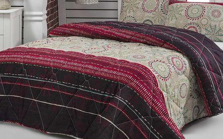 Eponj Home Prošívaný přehoz přes postel/přikrývka 143EPJ9980