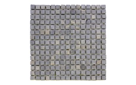 Divero 27856 Mramorová mozaika Garth - šedá - 1x síťka