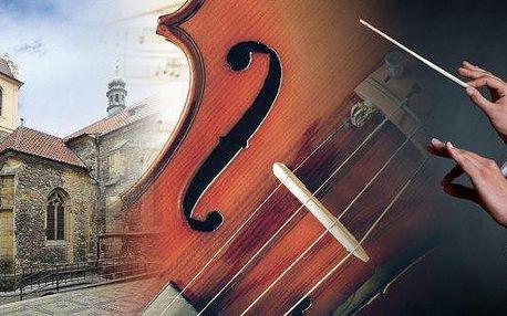 Úchvatný koncert vážné hudby v kostele sv. Martina ve zdi.To nejlepší z české a světové klasické hudby. Nezapomenutelný hudební zážitek v krásném prostředí a společnosti hudby takových velikánů jako Mozart, Bach, Dvořák, Smetana a mnoha dalších.