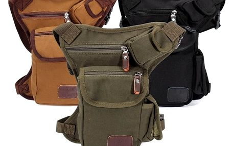 Pánská taška na stehno - 3 barvy
