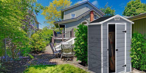 Keter MANOR 35696 Zahradní plastový domek 4x33