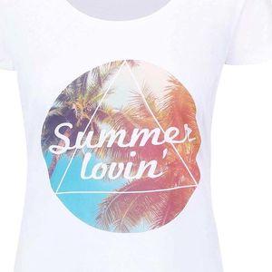 Bílé dámské tričko ZOOT Originál Summer lovin´