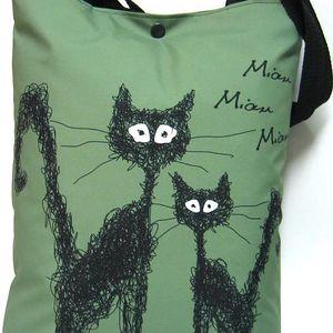 Taška s kočkou Gaul 08 42x32 cm, Gaul designs