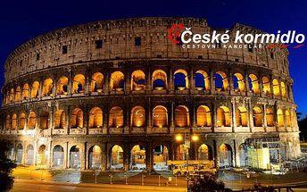 Florencie, Řím, Vatikán (muzea zdarma)   5denní zájezd s ubytováním
