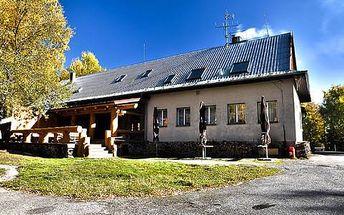 Eko farma Orlí vrch pro dva a dítě do 12 let s polopenzí