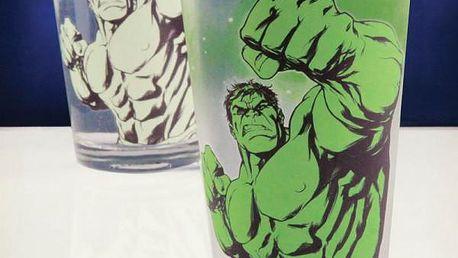 Sklenička měnící barvu Hulk