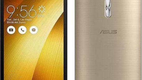 Mobilní telefon Asus ZenFone Selfie 32 GB ZD551KL (ZD551KL-6G175WW) zlatý