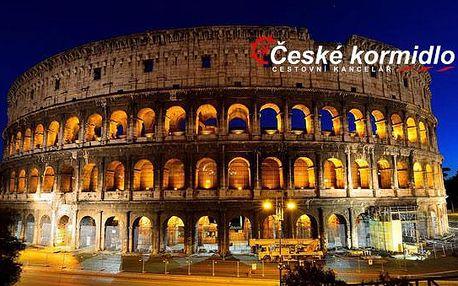 Florencie, Řím, Vatikán (muzea zdarma) | 5denní zájezd s ubytováním