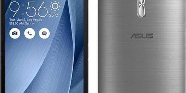Mobilní telefon Asus ZenFone Selfie 32 GB ZD551KL (ZD551KL-6J176WW) šedý