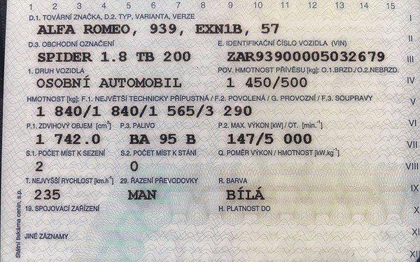 Půjčovna kabrioletů Brno