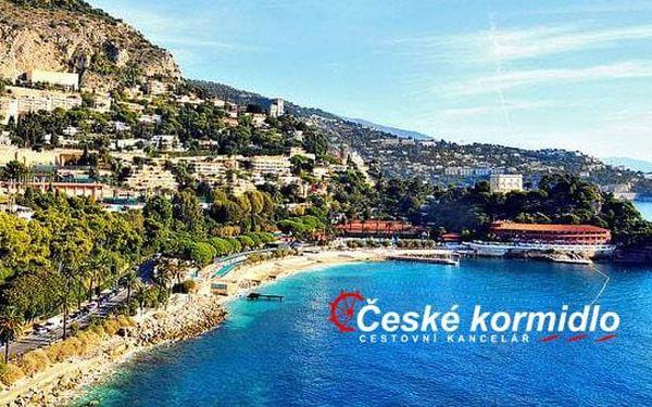 Krásy azurového pobřeží (Monte Carlo) | 5denní poznávací zájezd s ubytováním v hotelu