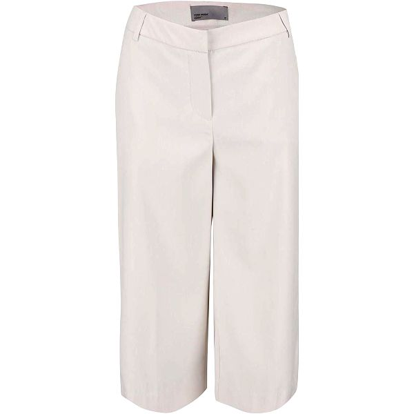 Krémové culottes Vero Moda Roro