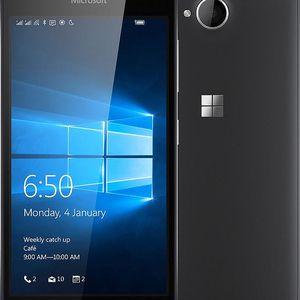 Microsoft Lumia 650 Dual SIM, černá - A00027043 + Zdarma SIM karta Relax Mobil s kreditem 250 Kč