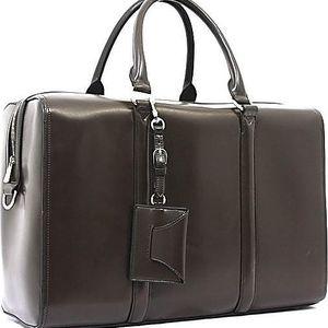 Taška/kabelka Bobby Black - kávová, 45x30 cm - doprava zdarma!