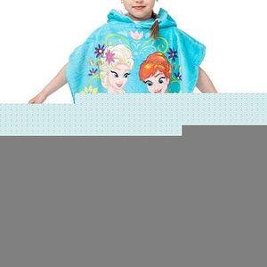 Jerry Fabrics Dětské pončo LEDOVÉ KRÁLOVSTVÍ 2016 60x120 cm
