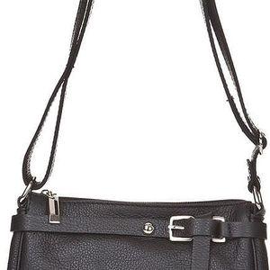 Kožená kabelka Markese 5161, černá - doprava zdarma!
