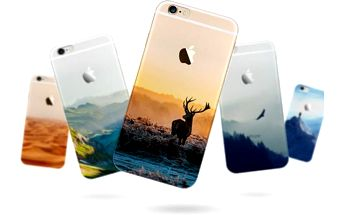 Ultratenký silikonový kryt na iPhone 6/6s - Scenérie