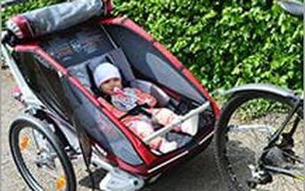 Aktivní společná dovolená? Půjčení dětských vozíků za neuvěřitelně nízkou cenu! Užijte si krásy přírody i s dětmi.