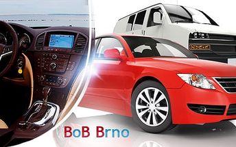 Ozonové čištění interiéru vozu nebo tepování extrakční metodou s možností vysávání
