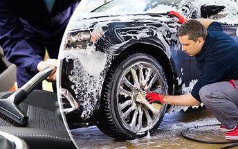 Kompletní péče o váš vůz! Tepování sedadel, dveří, kufru + umytí karoserie zdarma.