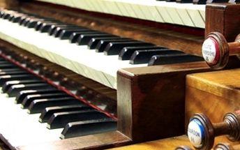 Varhanní koncert za doprovodu sopránu a houslí v kostele sv. Martina ve zdi, skladby mistrů hudby.