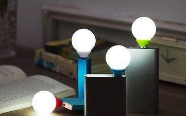 Kulatá USB LED lampička