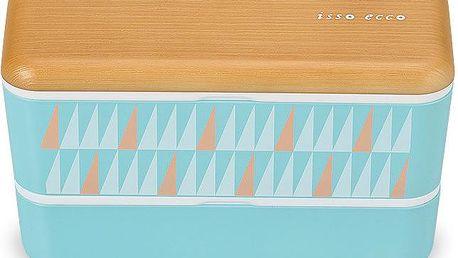Svačinový box Samedi Blue, 1000 ml