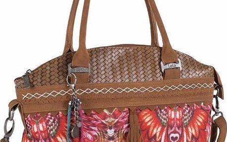 Barevná kabelka Lois, 40 x 28 cm