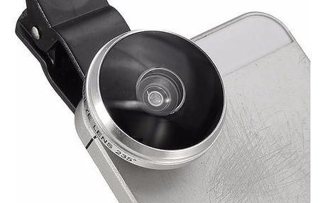 Přídavný objektiv na smartphone