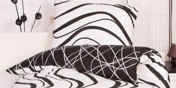 Night in Colours Bavlněné povlečení AROGANT - bílá 140x200, 70x90