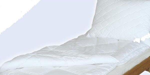 Antibakteriální thermo deka a polštář