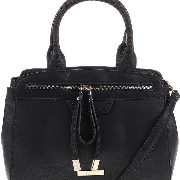 Černá kabelka Dice Handbags Muriel