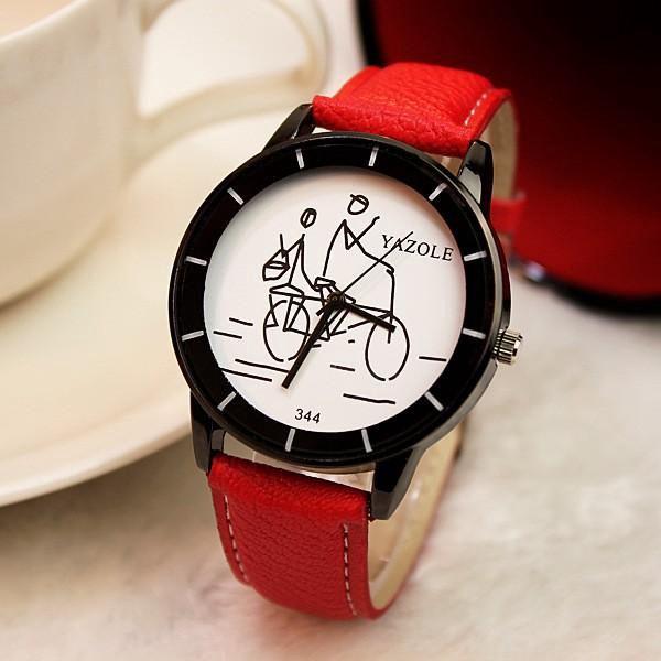 Dámské analogové hodinky v různých barvách