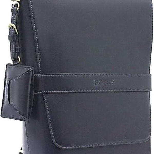 Elegantní batoh Bobby Black - modrá - doprava zdarma!
