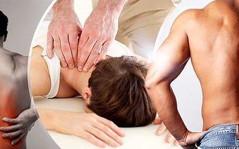60min. Dornova metoda pro zbavení bolestí + kontrola + Breussova masáž jako dárek!