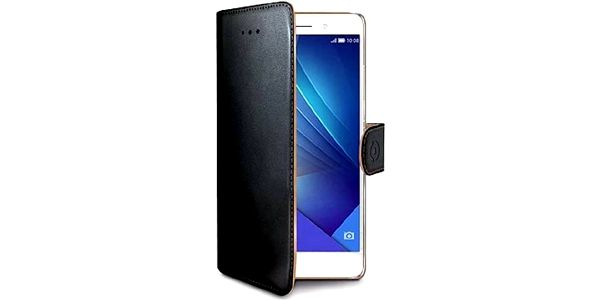 Pouzdro na mobil flipové Celly WALLY pro Honor 7 (WALLY533) černé