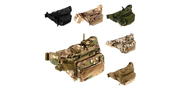 Taktická vojenská ledvinka - různé barvy