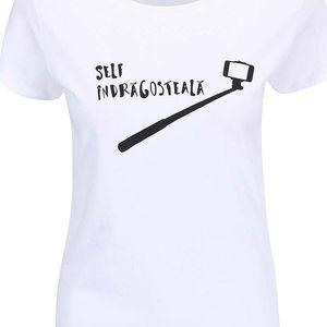 Bílé dámské tričko ZOOT Originál Self Indragosteala