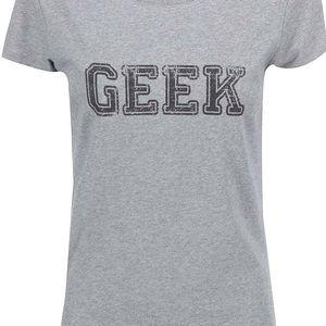 Šedé dámské tričko ZOOT Originál Geek
