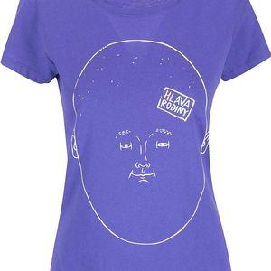 Fialové dámské triko ZOOT Originál Hlava rodiny