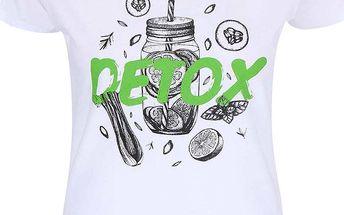 Bílé dámské tričko ZOOT Originál Detox