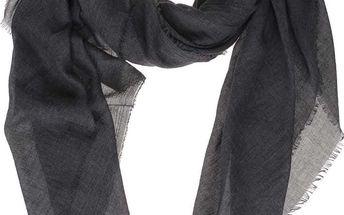 Tmavě šedý šátek ONLY Fine